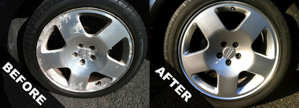 Can I Repair My Alloy Wheels